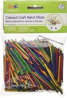 Craft Match Sticks-Colored 2