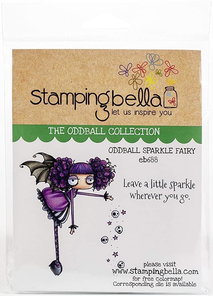 Stamping Bella EB688 Cling Stamps, Oddball Geek