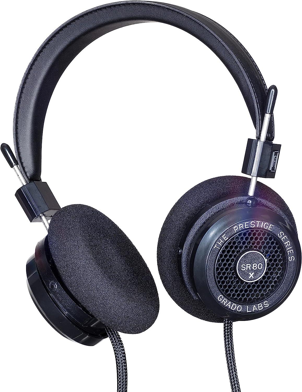 mart GRADO SR80x Prestige Series Wired Stereo Headphones Max 90% OFF Back Open