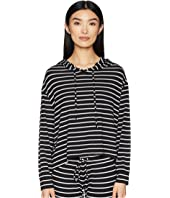 Eberjey - Lounge Stripes - The High-Low Hoodie