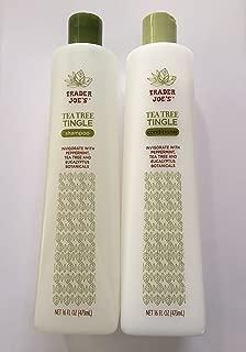 Trader Joe's Tea Tree Tingle Shampoo & Conditioner