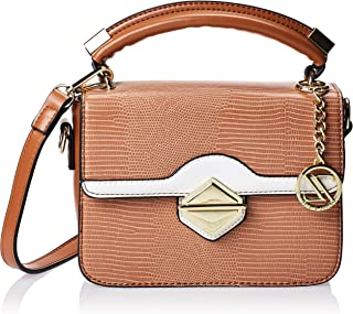 Zeneve London Crossbody Bag For Women, Brown, 119844400034