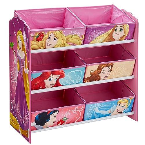 Attrayant Disney Princess Kids Bedroom Storage Unit With 6 Bins By HelloHome
