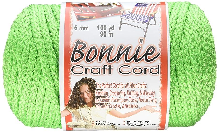 Pepperell Bonnie Macrame Craft Cord, 6mm 100-Yard, Parrot