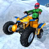 Snow ATV Mountain Quad Bike Stunts Racing