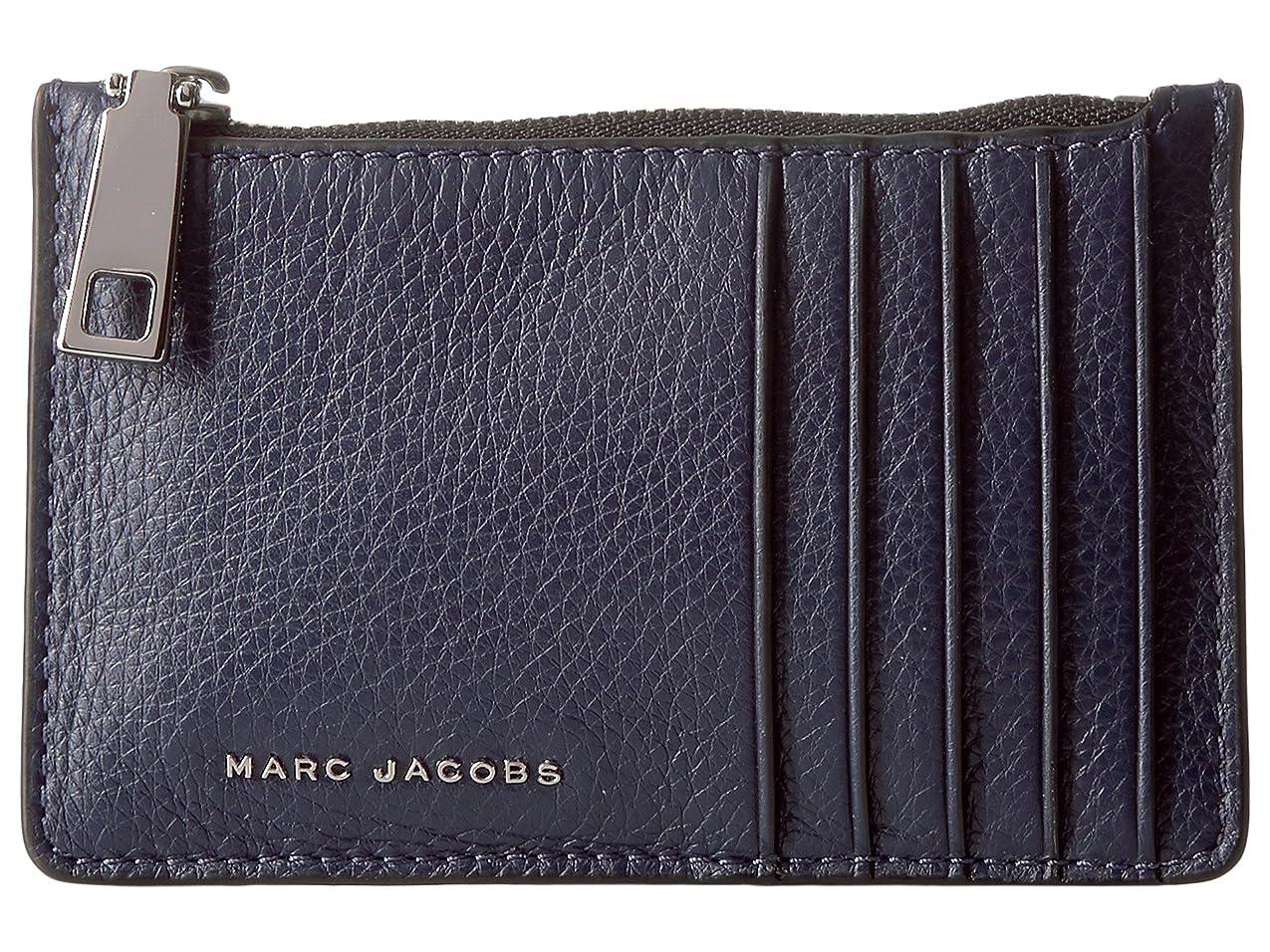 素晴らしい良い多くの正気こする[マークジェイコブス] Marc Jacobs レディース Wingman Card Zip Wallet ウォレット [並行輸入品]