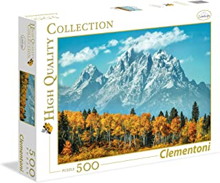 Clementoni - 35034 - High Quality Collection - Grand Teton in Fall - 500 Pieces