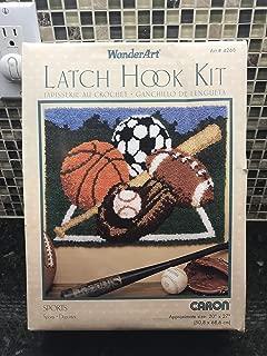 Latch Hook Kit - Sports by Caron