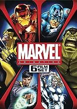 Marvel Animation 6-Film Set Ultimate Avengers / Ultimate Avengers 2 / The Next Avengers / The Invincible Iron Man / Dr. Strange / Hulk vs. Wolverine