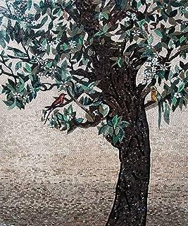Mozaico Tree of Life Stone Tile Mosaic Wall Art Mural   Mosaic Designs   Mosaic Artwork   Mosaic Wall Art Floor Inlay Handmade Mosaics   39
