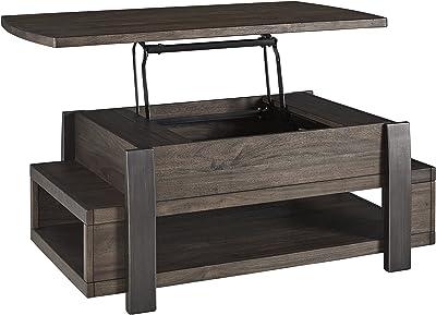 Amazon.com: Madeleine Home Pamplona Storage Coffee Table ...