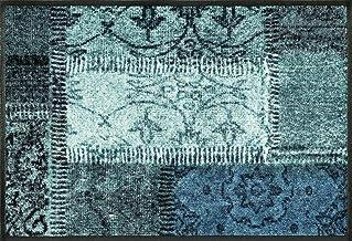 Wash&Dry Doormat, Acrylic grün, 50 x 75 x 0.7 cm