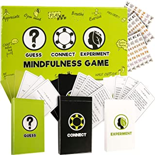 Mindfulness Games for Kids, Therapy Card Games: 3 Games in 1 Box, Fun Family Games That Teach Mindfulness, Social and Emotional Skills, Therapy Tools for Counselors and Teachers