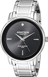 Armitron Men's Diamond-Accented Bracelet Watch