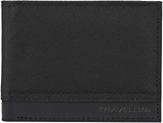 Travelon RFID Blocking Billfold, Black, One Size