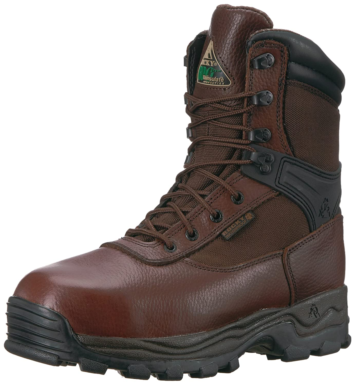 [Rocky] ロッキーMen 's Sport Utility Pro Waterproof Work Boot Steel Toe?–?fq0006486