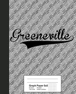 Graph Paper 5x5: GREENEVILLE Notebook