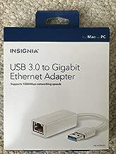 Insignia - USB 3.0-to-Gigabit Ethernet Adapter - White