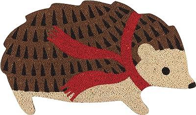Now Designs Dmat Harriet Hedgehog Doormat, Natural