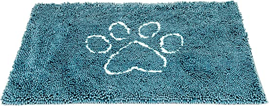 Dog Gone Smart Dirty Dog Doormat, Medium, Pacific Blue