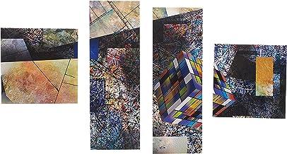 لوحة فنية جدارية لديكور المنزل ,لوحات مطبوعة مع اطار خارجي مخفي ,4 قطع ,K601010