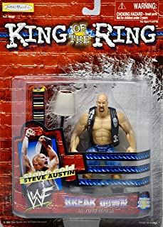 1999 - WWF/ WWE - King of the Ring - Stone Cold Steve Austin Action Figure - Break Down - Rare - OOP