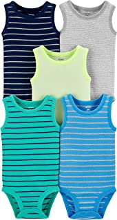 Baby Boys 5-Pack Original Short Sleeve Bodysuits