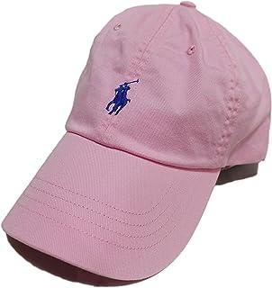 (ポロ ラルフローレン) POLO RALPH LAUREN コットン チノ ベースボール キャップ Cotton Chino Baseball Cap キャメル ピンク Carmel Pink [並行輸入品]