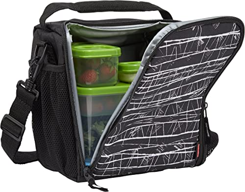 Rubbermaid-LunchBlox-Lunch-Bag-Medium-Black-Etch