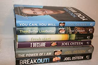 Joel Osteen 6-Title Collection: You Can, You Will (2014); Think Better Live Better(2016); Fresh Start(2015); I Declare(2012); The Power of I Am(2015); Breakout! (2013)