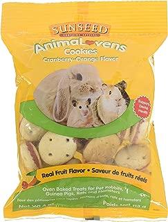 Sunseed Company 36022 Cranberry-Orange Animalovens Small Animal Treat, 4 Oz