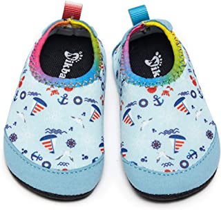 Nikababy Baby Girl Boy Swimming Water Shoes Socks Home Fast Drying Non-Slip Suitable for Beach and Pool Machine Wash
