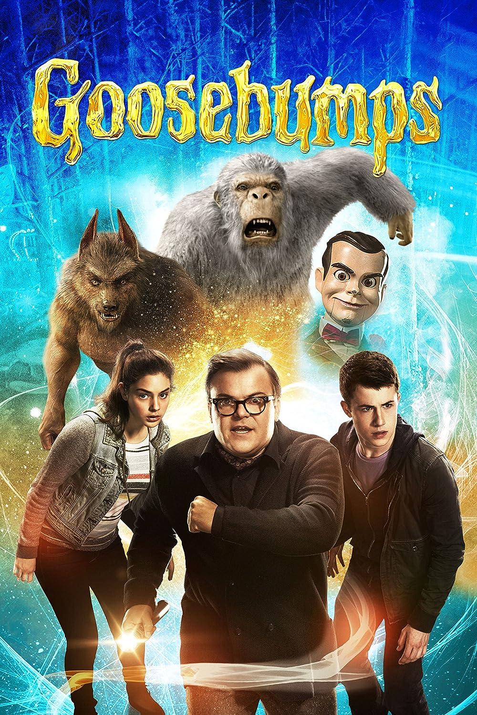 Black Creations Gosebumps 3 Movie Poster Canvas Picture Art Print Premium Quality A0 A1 A2 A3 A4 (A0 Canvas (30 40))