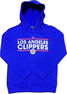 adidas Los Angeles Clippers NBA Youth Pullover Hooded Sweatshirt