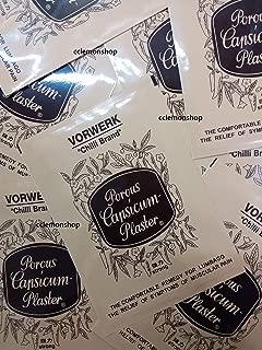 Vorwerk Chilli Brand Porous Capsicum Plaster (4.5in x 7in) 24 patches