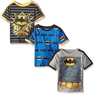 DC Comics Batman Boys' Value Pack T-Shirt - Gray