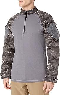 Tru-Spec Combat Shirt, A-TACS Au-x Xtreme BDU 1/4 Zip, Ll, A-TACS Au-X, Large/Large