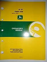 John Deere *25 EV 25EV Chain Saw (s/n 100,001 and up) Operators Manual 1/88 original
