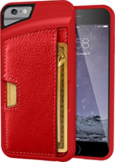 Smartish iPhone 6/6s Wallet Case - Wallet Slayer Vol. 2 [Slim Protective] Credit Card Holder for Apple iPhone 6s/6 (Silk) ...