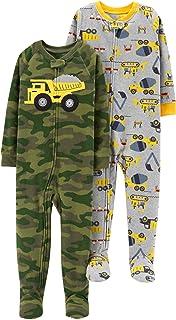 Carter`s Boys` 2-Pack Fleece Pajamas
