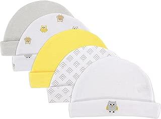 Luvable Friends Baby Boys' Caps, 5 Pack