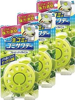 【まとめ買い】生ゴミ用ゴミサワデー 消臭芳香剤 ゴミ箱用 フレッシュアップルミント 2.7ml(目安:約1ヶ月~2ヶ月)×3個