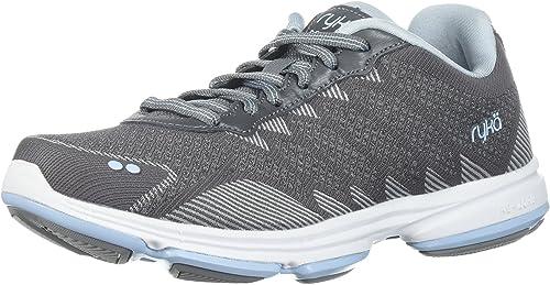 Ryka Wohommes Dominion Walking chaussures, Frost gris Soft Soft bleu Chrome argent, 5 M US  réductions incroyables