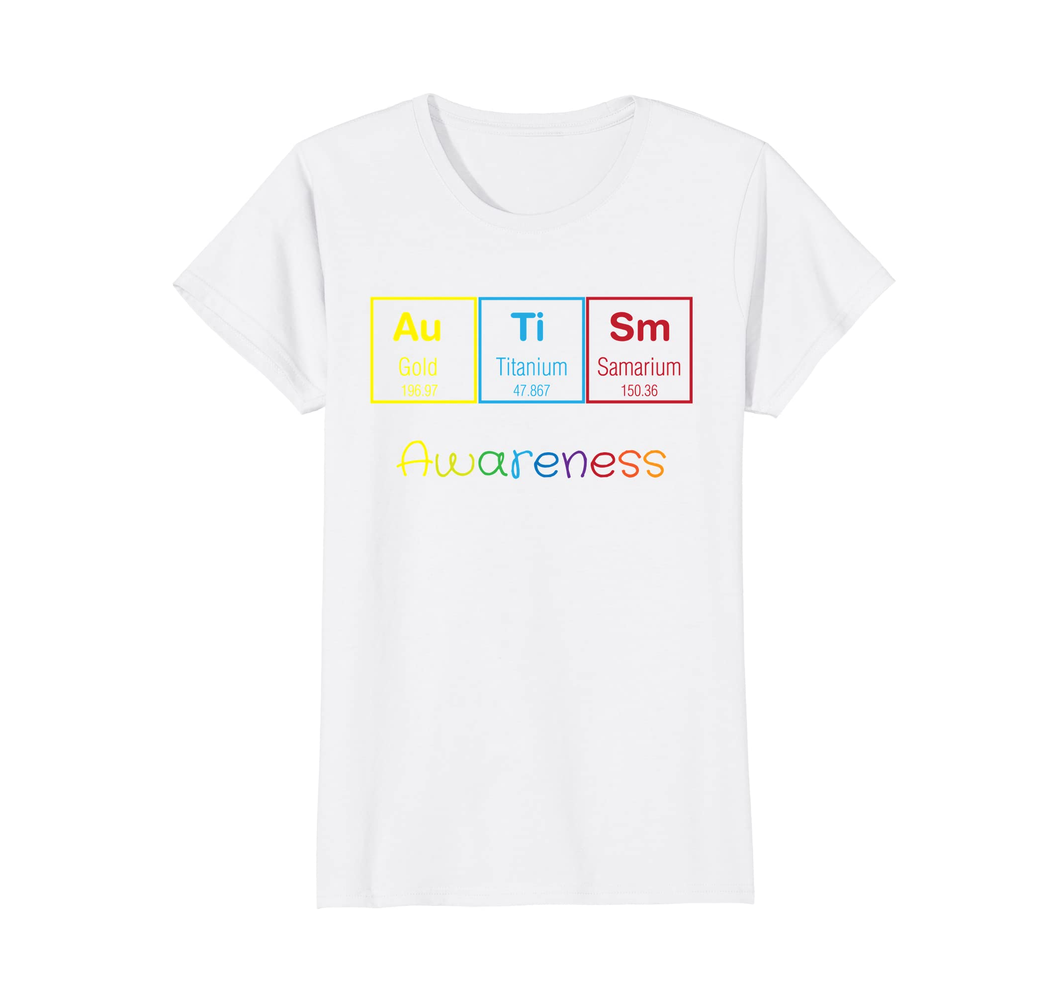 autism periodic table of science shirt autism awareness tee - Periodic Table Autistic