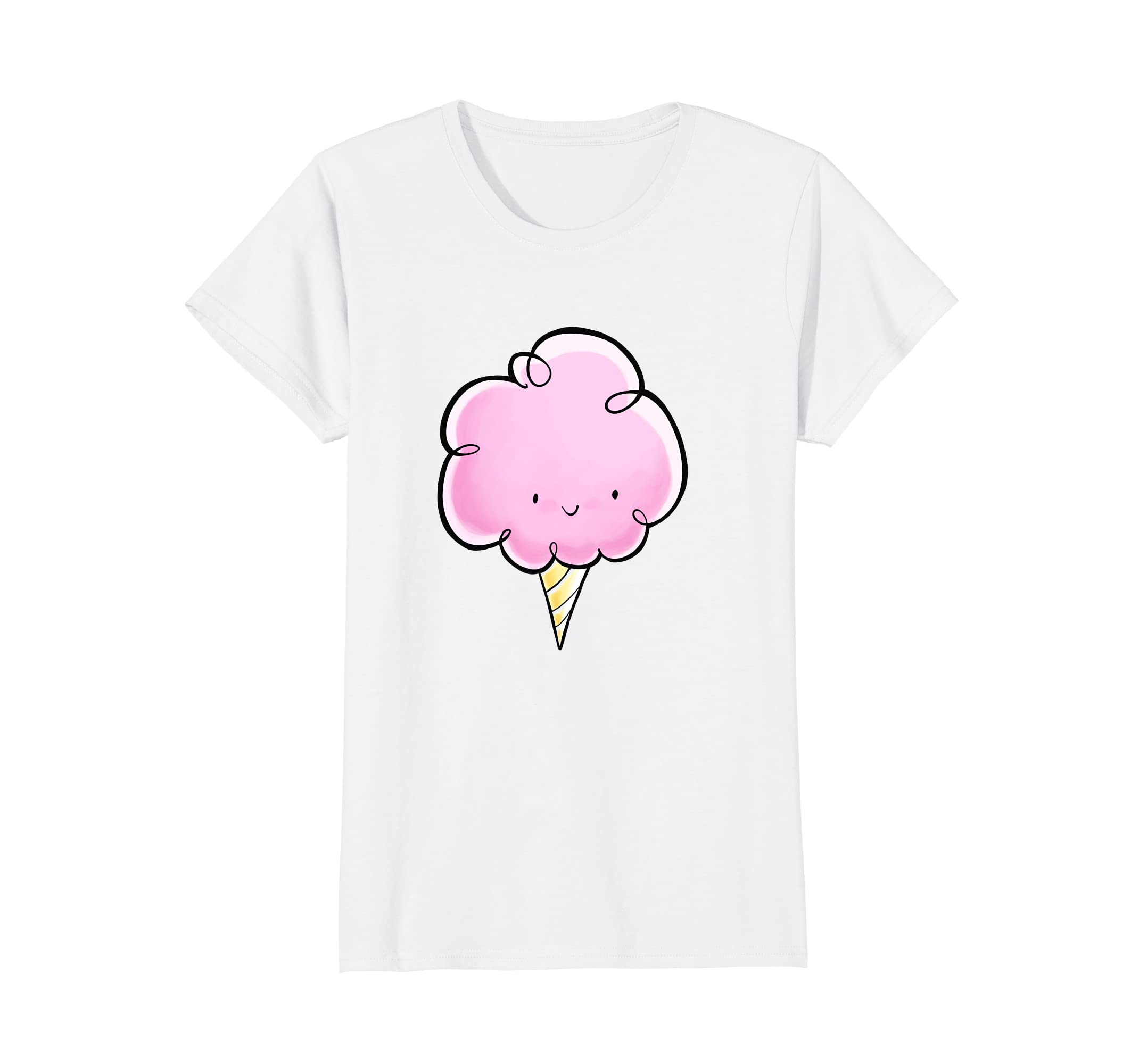 FoxCove: cute funny cotton candy shirt-Teesml