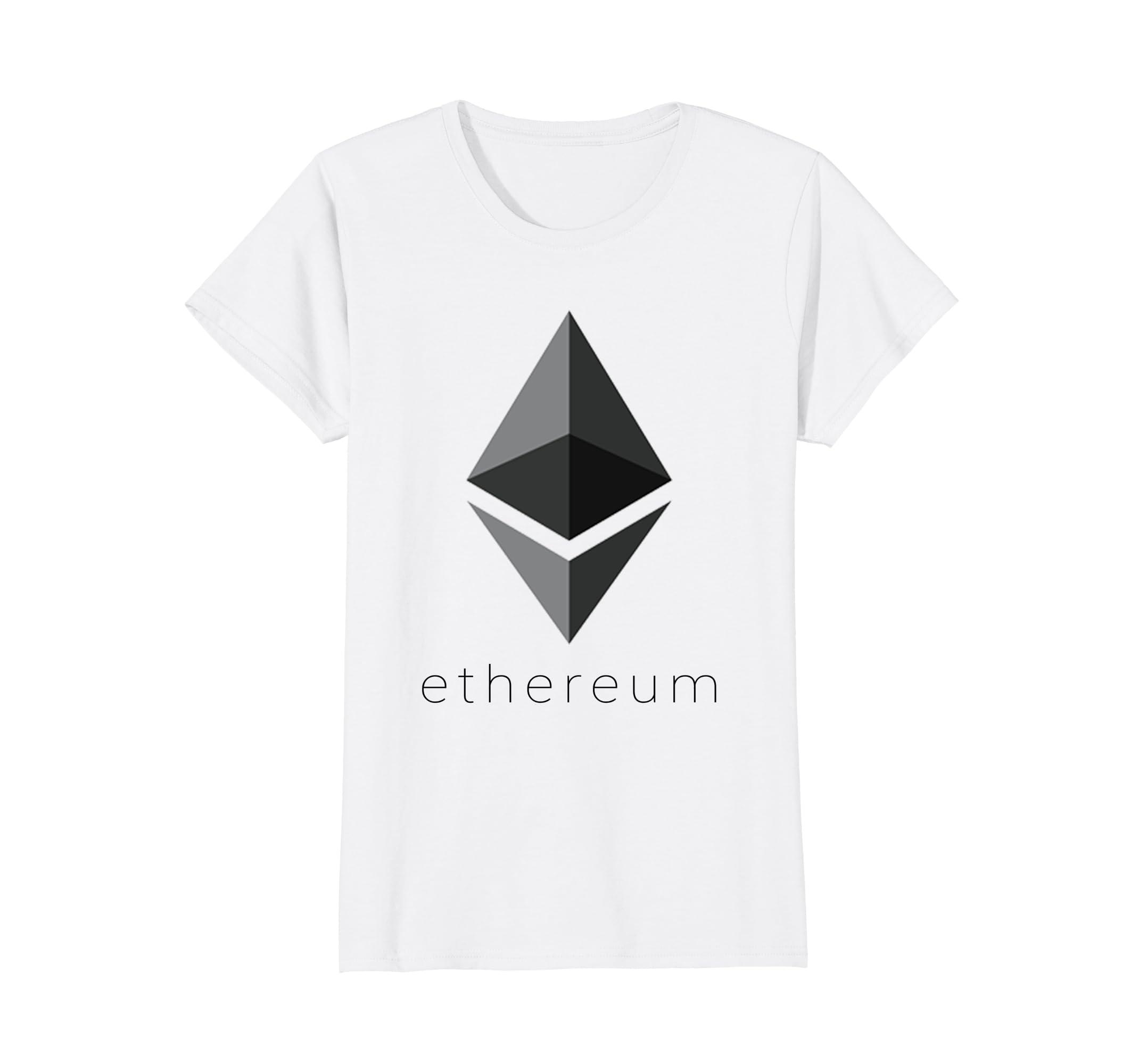 50e4a1275c8 Amazon.com  Official Ethereum Logo Shirt - ETH Shirt - For Men For Women   Clothing