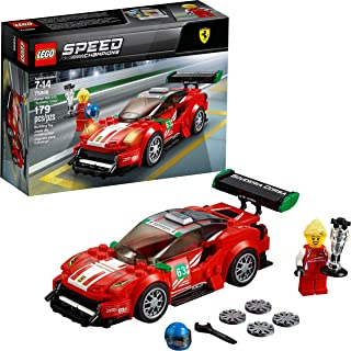 "LEGO Speed Champions Ferrari 488 GT3 ""Scuderia Corsa"" 75886 Building Kit (179 Pieces)"