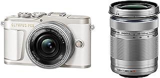 OLYMPUS ミラーレス一眼カメラ PEN E-PL9 ダブルズームキット ホワイト...