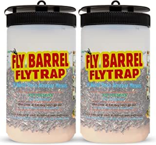 Flies Be Gone Fly Barrel 2 Pack Non Toxic Fly Trap