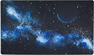 Inked Playmats Blue Galaxy Playmat Inked Gaming Perfect for Card Gaming TCG Game Mat